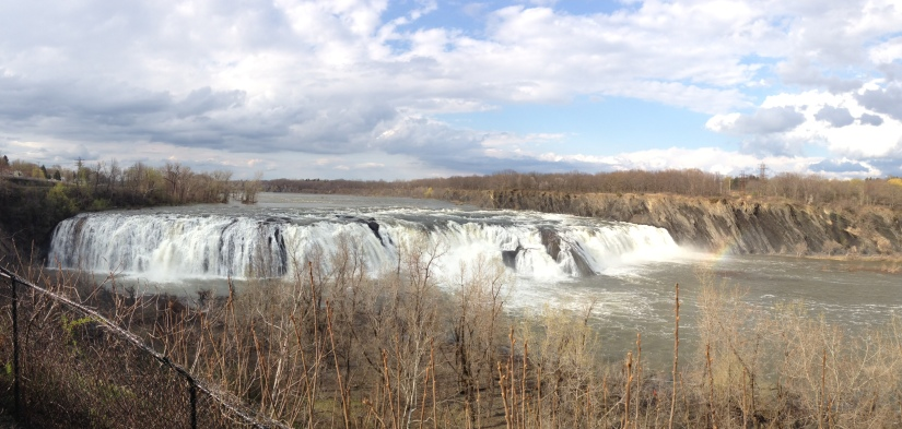 Cohoes Falls - Full view
